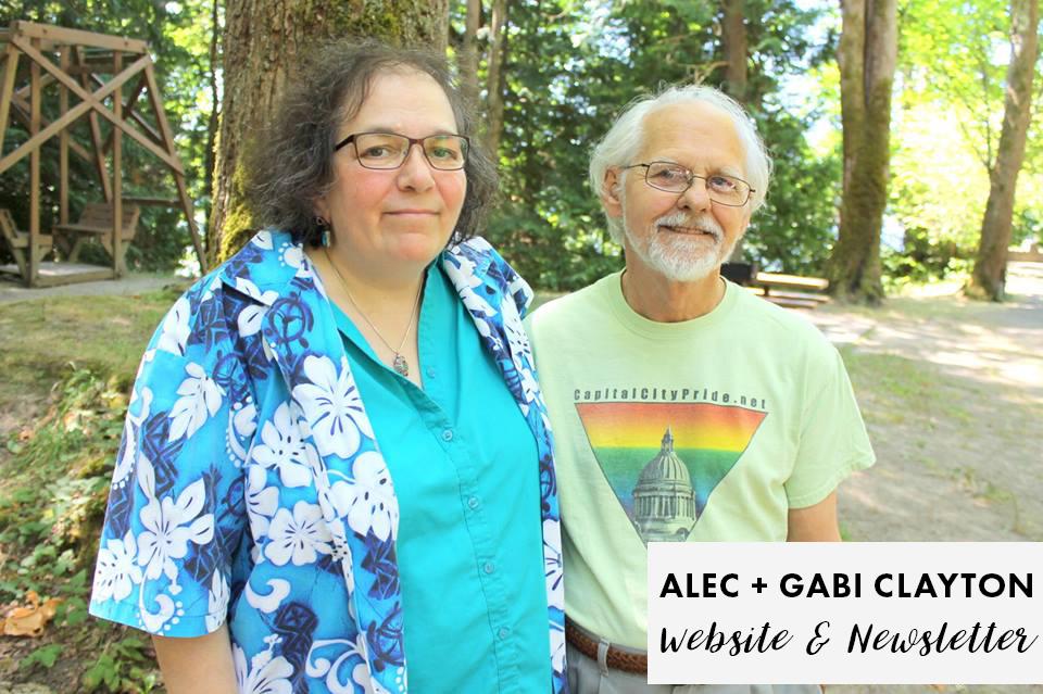 Alec & Gabi Clayton - PFLAG Olympia Board