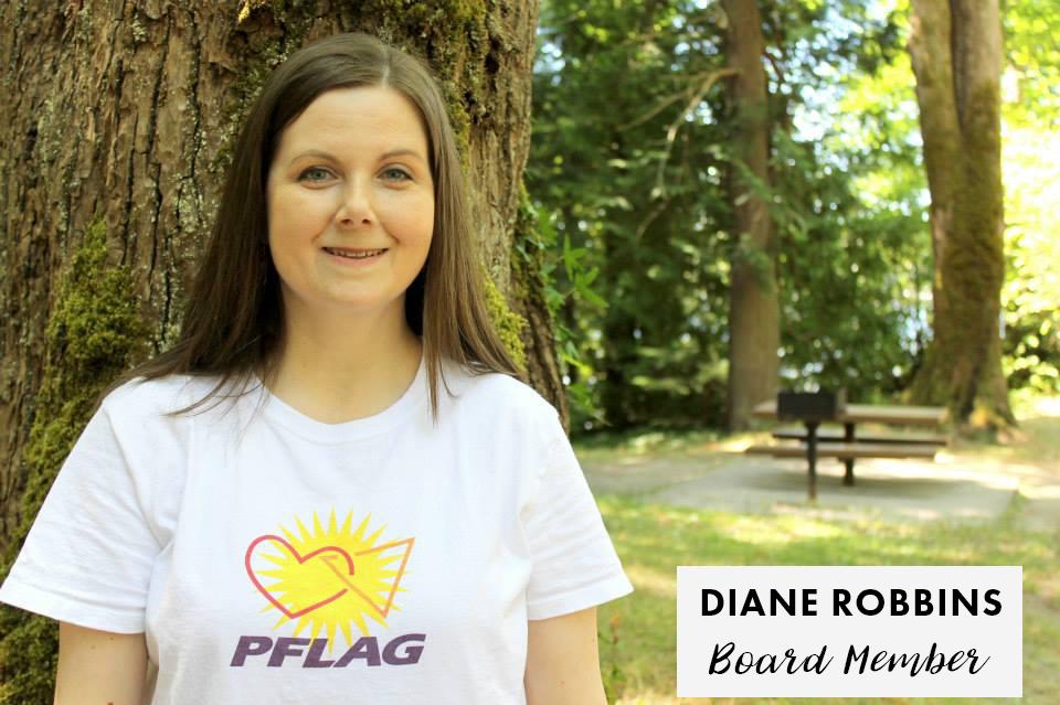 Diane Robbins - PFLAG Olympia Board Member